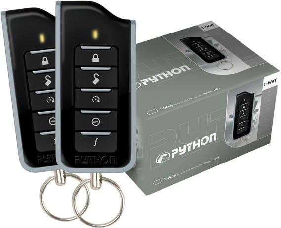 Python 1601 - Remote Starter, Car Alarm with Keyless Entry